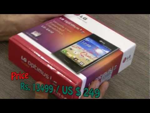 LG Optimus L5 E610 Unboxing and hands on Review