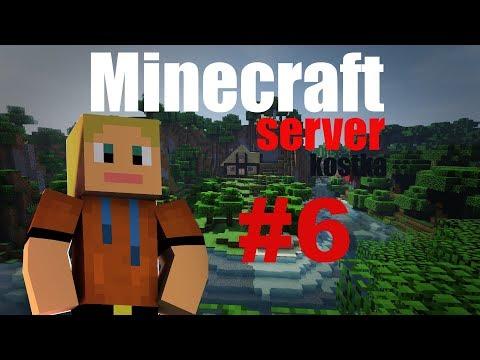 DukyLP - Minecraft server KOSTKA #6 - Stavba baráku