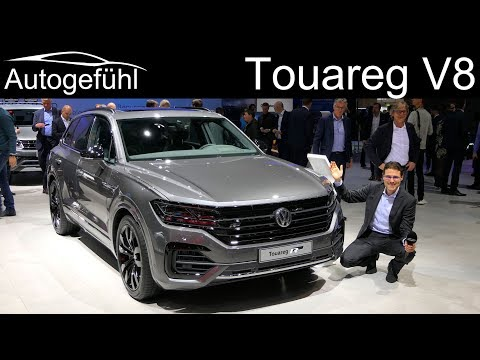 The most powerful  Volkswagen - VW Touareg V8 TDI REVIEW - Autogefühl