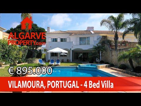 Vilamoura - Villa de 4 chambres avec vue Golf