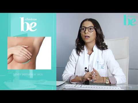 El rodillo sobre el aumento del pecho