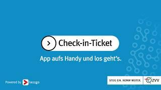 Check-in-Ticket in der ZVV-Ticket-App
