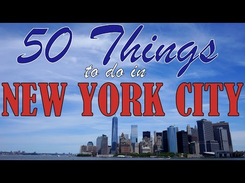 Video 50 THINGS TO DO IN NEW YORK CITY | Top Attractions Travel Guide