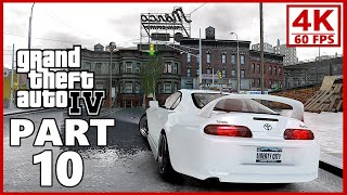 Grand Theft Auto 4 4K Gameplay Walkthrough Part 10 - GTA 4 4K 60fps