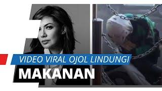 Viral Video Driver Ojol Lindungi Pizza dari Semprotan Disinfektan, Tuai Pujian dari Najwa Shihab