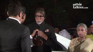 Amitabh Bachchan And Rekha Together At Ronnie Screwvala's Daughter Wedding Reception