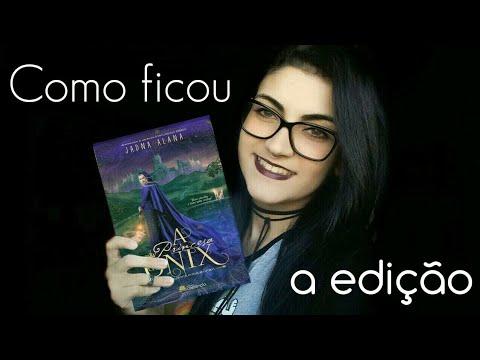 A PRINCESA DE ÔNIX   COMO FICOU EDIÇÃO DO LIVRO