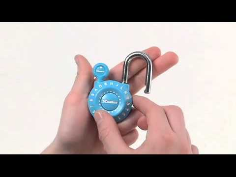 1590D Set-Your-Own Combination Lock: Operating Instructions