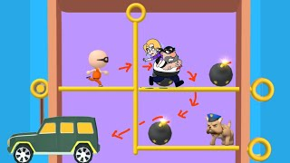prison pin rescue game pull the pin / games