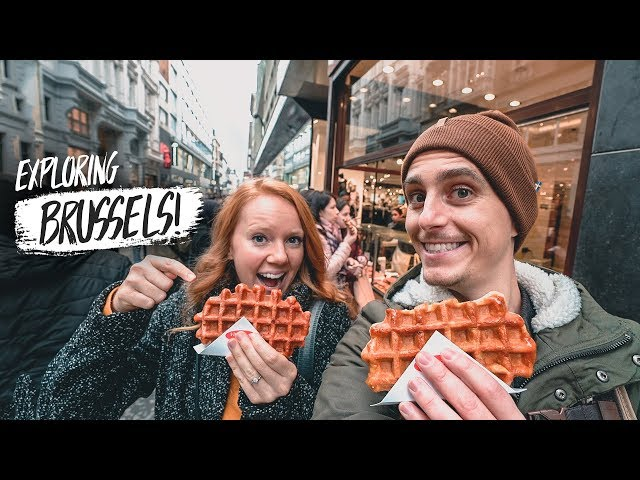 Best Day EVER in Brussels! Waffles, Old Town + The ATOMIUM 😍