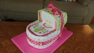 Bassinet Diaper Cake (How To Make)
