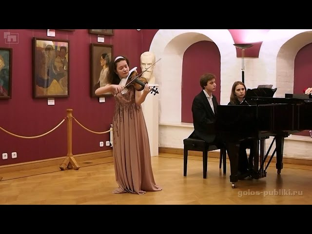 Anna Savkina, Dmitry Kalashnikov - Chausson - Poeme, Op. 25