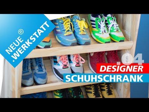 TAG.04 | Schuhschrank mit Stil. Echtes Designstück zum selber bauen!