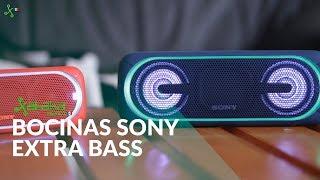Potentes bajos portátiles y sincronización, así son las Extra Bass de Sony