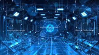 future technology background | Hi tech background video | artificial intelligence background video