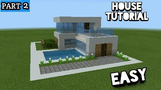 Minecraft house tutorial part 2