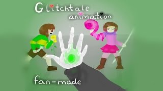 BETTY VS CHARA GLITCHTALE ANIMATION