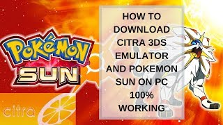download pokemon sun and moon for citra emulator - Kênh