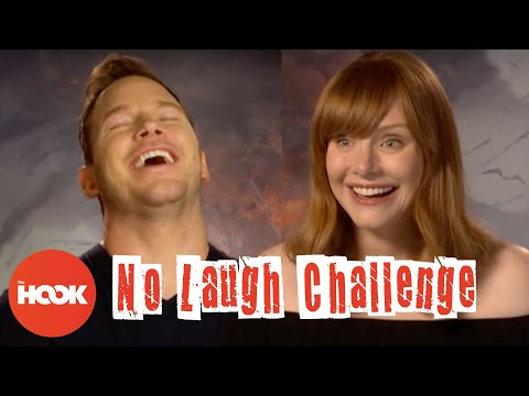 CHRIS PRATT & BRYCE DALLAS HOWARD Make Each Other Laugh With Dumb Jokes   The Hook