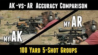 AK47 -vs- AR-15: Accuracy Comparison Between My Rifles