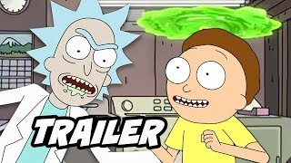 Rick and Morty Season 4 Teaser - Season 4 Episode 1 Early Release Date Breakdown