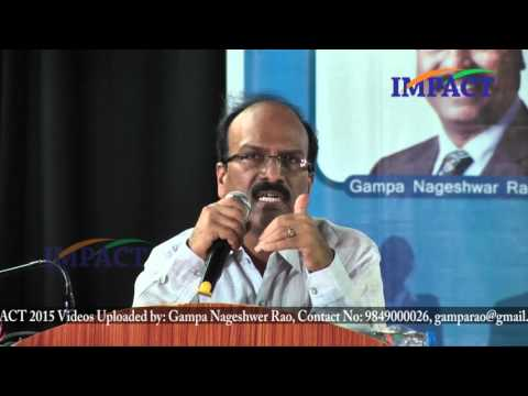 Learning - Dignity Of Labour - Mistake  Janardhan Reddy   TELUGU IMPACT HYD SEPT 2015