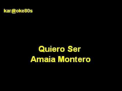 Quiero ser Amaia Montero
