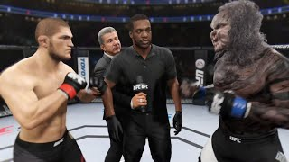 Khabib vs. Doomsday (EA Sports UFC 2) ☝️🦅