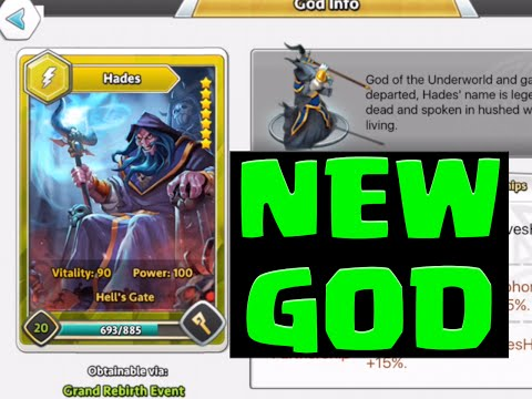 Dawn of Gods HADES REBIRTH! HADES 29 Rebirths? BEST GOD in DOG!
