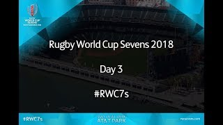 Rugby World Cup Sevens Video Live Day 3 Finals #RWC7s