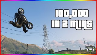 How To Make $100,000 In 2 Minutes in GTA 5 Online Easy Money Method