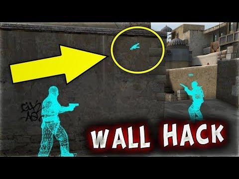 SİLAH SAKLAMBAÇINDA WALL HACK İLE TROLL ! (CS:GO)