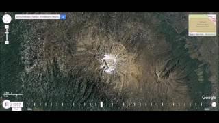 Mount Kilimanjaro, Tanzania - Shrinking Ice Cap Time Lapse