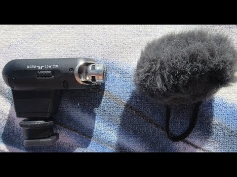 Sony VIDEOKAMERA Camcorder Zubehör Mikrofon Stereo-Mikrofon für Multi-Interface-Zubehörschuh