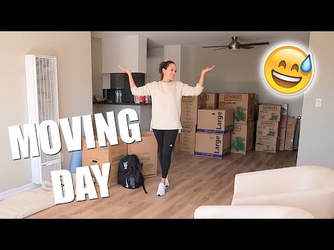 MOVING DAY VLOG | Marie Jay