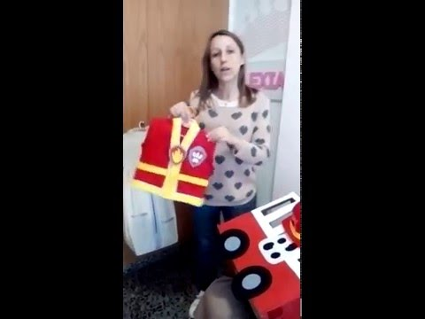 Como hacer un disfraz de  MARSHALL