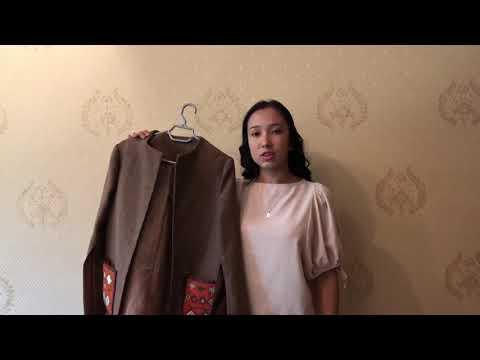 Молодежное пальто для девочек