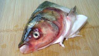 爱吃鱼头一定要收藏,学会这种懒人特色做法,3斤鱼头吃不够