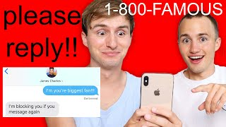 TEXTING CELEBRITIES & YOUTUBERS PHONE NUMBERS