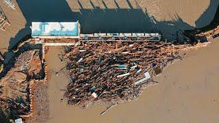 Historic FLOODING after Dam FAILS (Midland 2020)