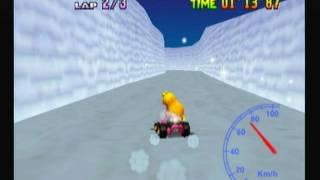 "Mario Kart 64 - Frappe Snowland 1lap 39""20"