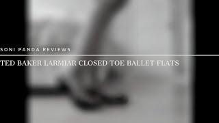 Ted Baker Larmiar Closed Toe Ballet Flats