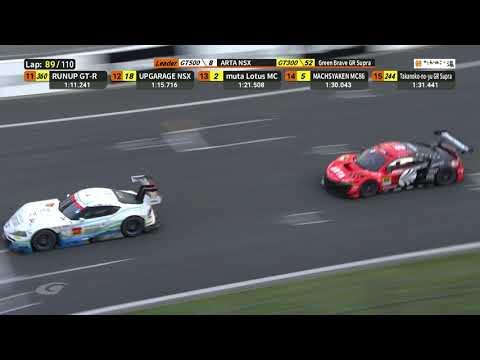 ARTA 55号(GT300)のスーパーGT第2戦富士 決勝レースハイライト動画