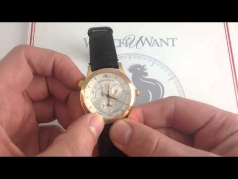 Jaeger-LeCoultre Master Geographic Luxury Watch Review