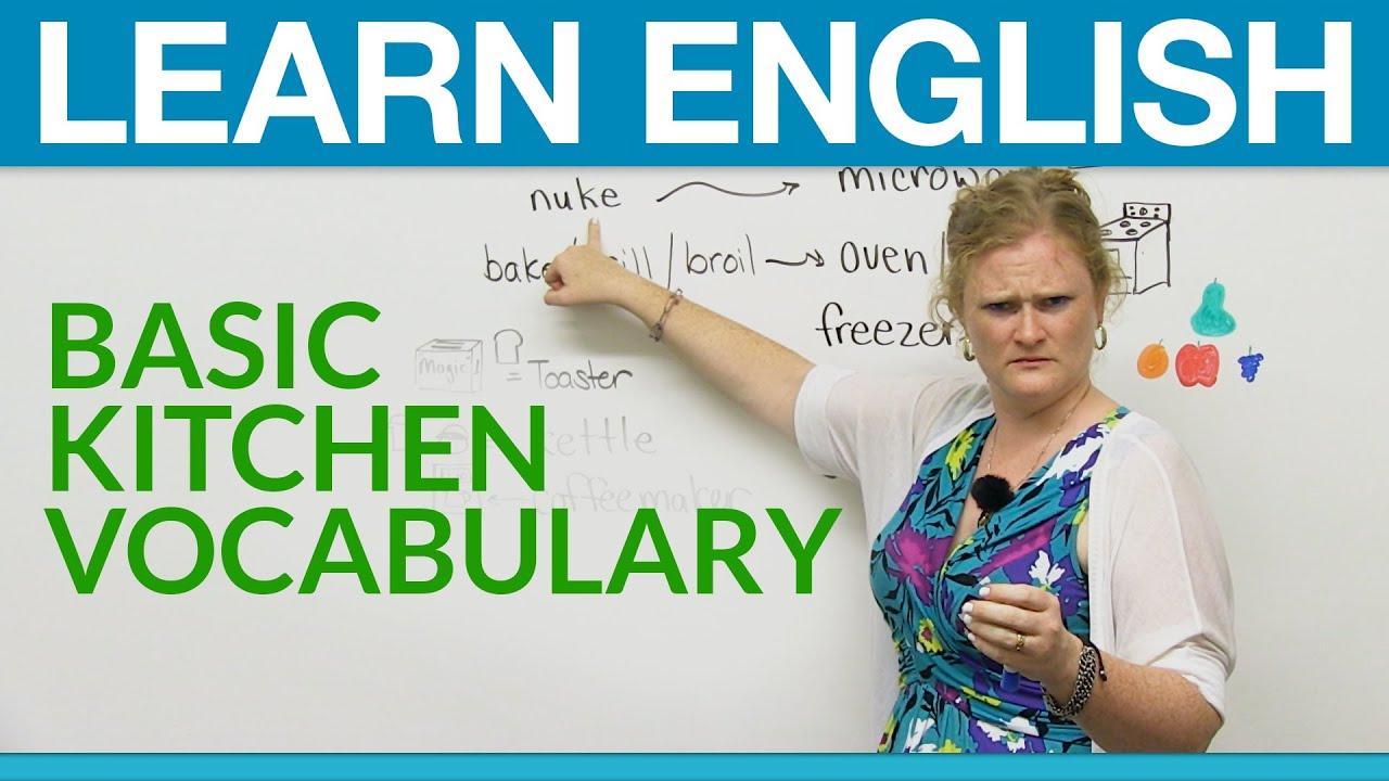 Learn English Basic Kitchen Vocabulary · Engvid
