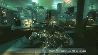 Transformers: Revenge of The Fallen Walkthrough: Autobot - Shanghai Spiral Highway - Long Haul Lives