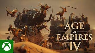 Xbox Age of Empires IV - Official Launch Trailer anuncio