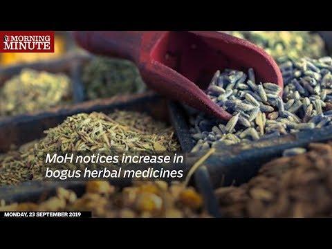 Ministry of Health notices increase in bogus herbal medicines
