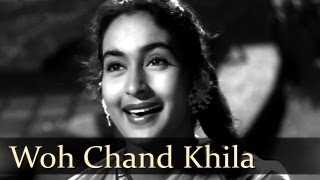 Woh Chand Khila - Raj Kapoor - Nutan - Anari - Lata Mangeshkar - Mukesh - Evergreen Hindi Songs