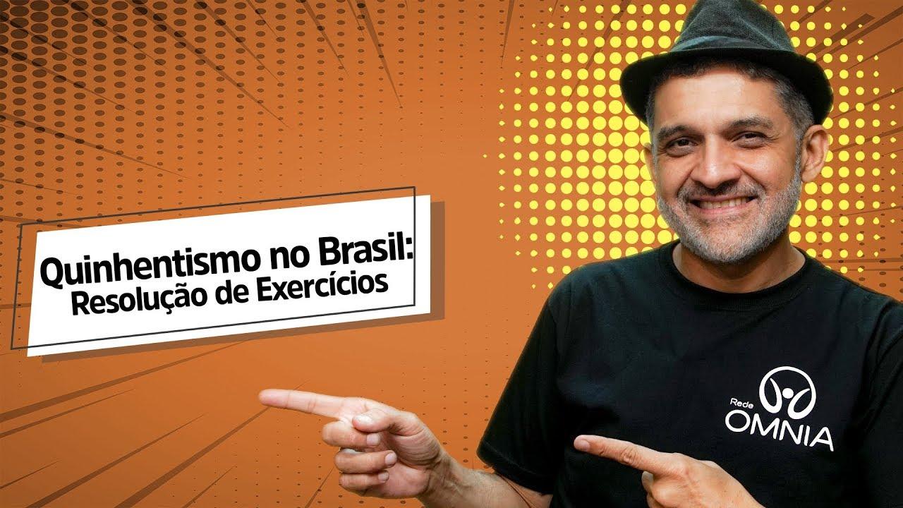 Quinhentismo no Brasil: Resolução de Exercícios